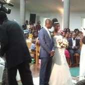 At a weeding ceremony today  (Rahel & Nana Twum Barimah)