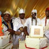 AWUJALE OF IJEBULAND, OBA SIKIRU ADETONA'S 80TH BIRTHDAY, MAY 10, 2014