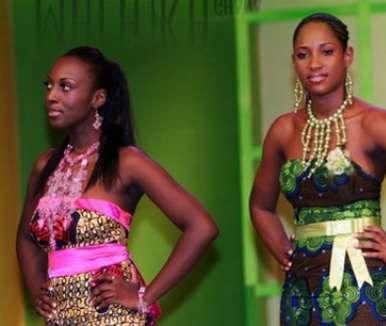 Are these girls real?..they all sooo cute!! Loving the Batik outfits crazy!<br>copyrights @ ghanasentertainment