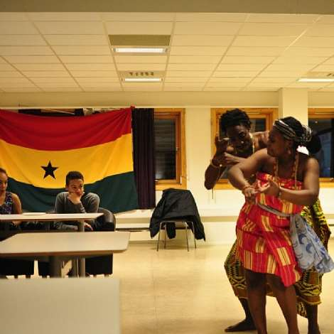 Ghanaian Students In Trondheim, Norway Mark 58th Independence Anniversary
