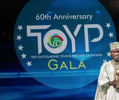 Imrana Alhaji Buba, Jci Toyp World Recipient
