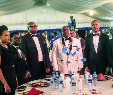 Jci Nigeria President With Some Executives