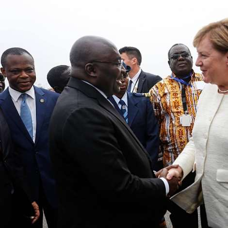 Visit Of German Chancellor, Angela Merkel