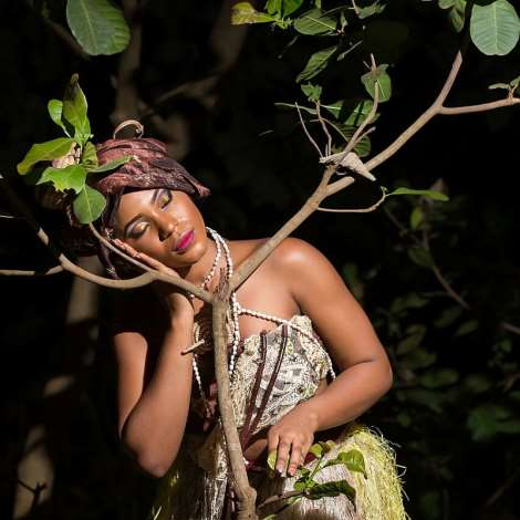 Queen Jennifer okechukwu, Face Of Culture Africa Dazzles In New Creative Photos