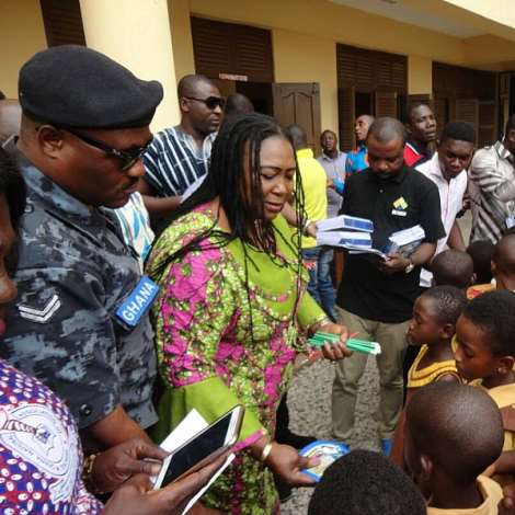 Weija-Gbawe Mp Marks My First Day At School With Pupils