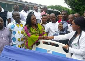 Weija-Gbawe Mp Donates 10 Hospital Beds To Health Centres