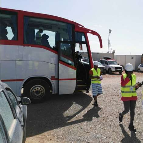 African Journlists Visit Morocco's Mega Concentrated Solar Power Projects In Ouarzazate