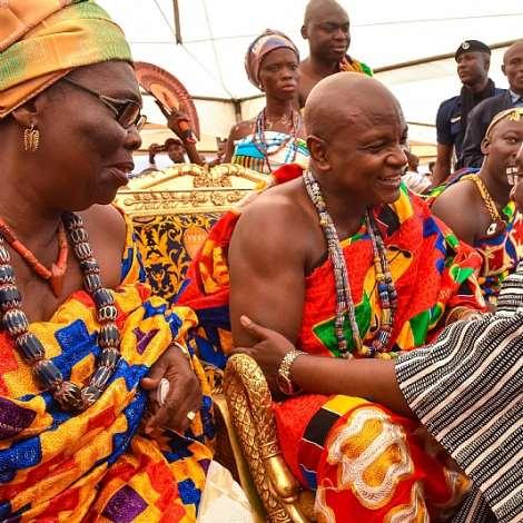 Vice President Bawumia At The 2017 Yam Festival Of Asogli State