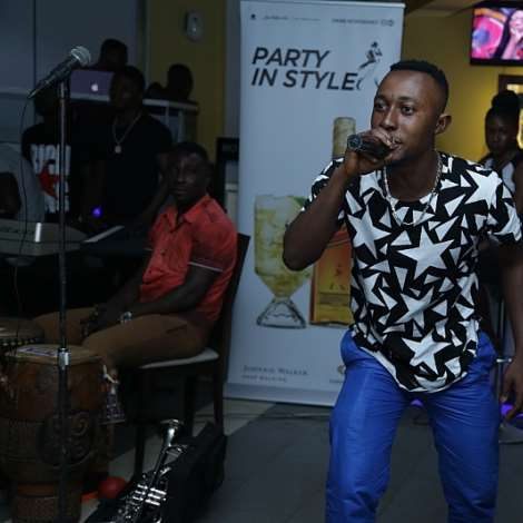 Baffour Performs At Preface Album Launch