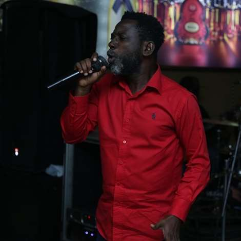 Head Of Reggae And Dancehall At Musiga, Mr. Root Eye Performs At Preface Album Launch