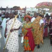 Ga Homowo Celebrations in London,United Kingdom