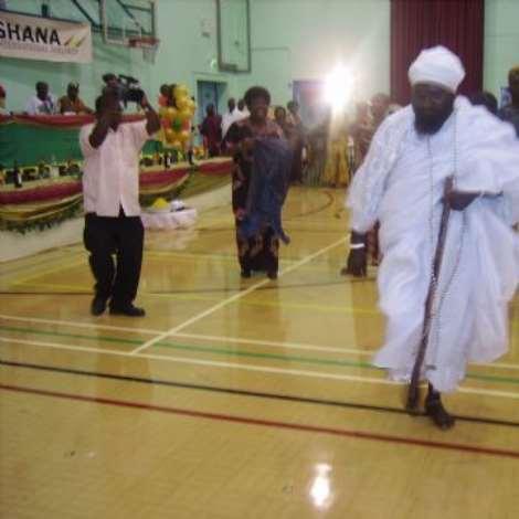 Nuumu Gbelenfo dancing Obonu