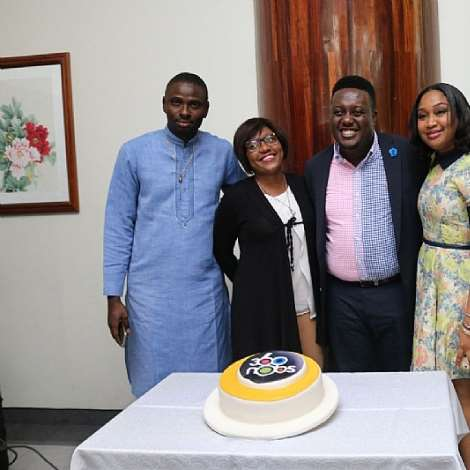Cake Time With Media Personality Oye Akideinde At Meets Media