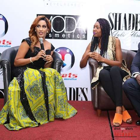 Juliet Ibrahim, Tonia Soares And Oye Akideinde At Meets Media