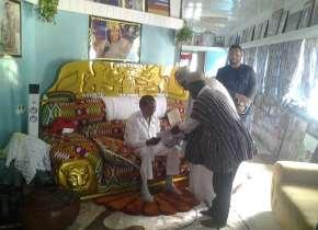 Gomoa-Mpota: Tijaniyya Muslims' Spiritual Leader Visits Apostle Kwadwo Safo Kantanka