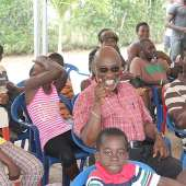 Bola Ray and St. Anthony's School Donate to SOS Village