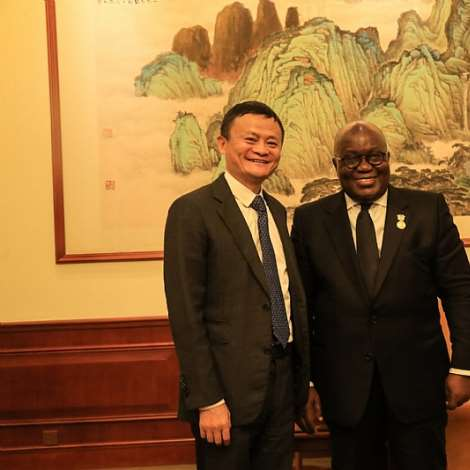 Meeting With Jack Ma, Executive Chairman Of Alibaba Group