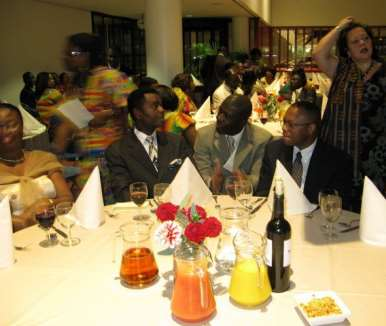 DINNER PARTY WITH  THE PRESIDENT - HOLLAND 05