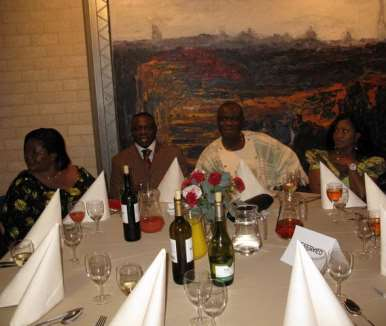 DINNER PARTY WITH  THE PRESIDENT - HOLLAND 16