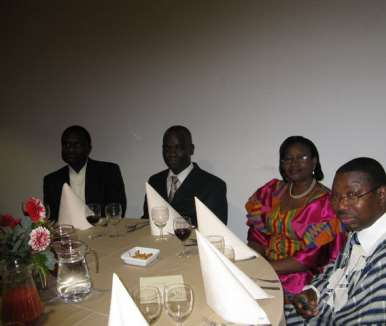 DINNER PARTY WITH  THE PRESIDENT - HOLLAND 23