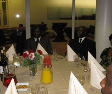 DINNER PARTY WITH  THE PRESIDENT - HOLLAND 39