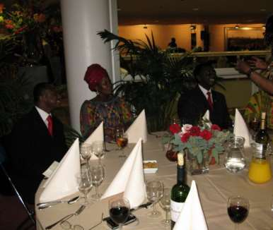 DINNER PARTY WITH  THE PRESIDENT - HOLLAND 42