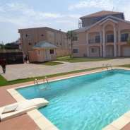 4 bedroom furnished house with swimming pool for r