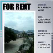 HOUSE FOR RENT IN APLAKU-ACCRA