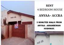 HOUSE FOR SALE IN ANYAA-ACCRA