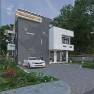 4 Bedroom Townhouse Behind Trade Fair