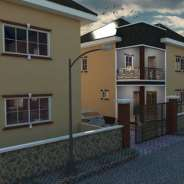 Beautiful 8 units houses at gbetsile