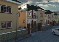 Beautiful 8 units houses at gbetsile