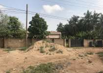 2 plots of land on Haatso main road