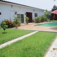 A Five Bedroom House with a Swimming Pool for Rent