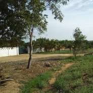 Roadside Land For Sale at Prampram