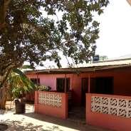 4 bedroom of 2 Apartments + 3 Stores Gbawe Zero