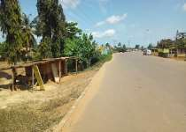 Roadside Land for sale at Mankessim