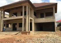 5 bedroom uncompleted house for sale at east legon