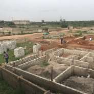 solid uncompleted house at east legon hills