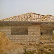 3 BEDROOMS UNCOMPLETED HOUSE FOR SALE