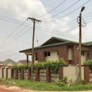 a 4 Bedroom house with 2 Staff Quarters Legon