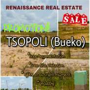 serviced plot of land for sale at TSOPOLI(bueko)