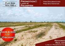 SERVICED LANDS FOR SALE