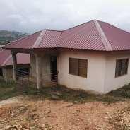 TITLED AND NEW 2 MASTER BRM HOUSE AT KWABENYA
