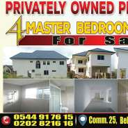 4 Master Bedroom House For Sale - Tema, comm. 25