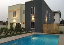 Swimming pool house for sale at Adjiriganor