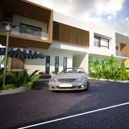 townhouse development in the heart of Spintex