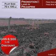 Serviced Land in Prampram