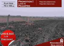 Serviced Land in Prampram