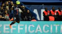 Serge Aurier, in action on April 30, 2016, will not be available for the Ivory Coast's friendly match against Hungary.  By Franck Fife (AFP/File)